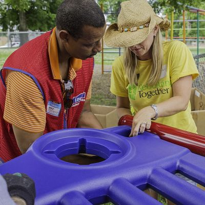 DirectBolt means our playgrounds for kids are easy to build.