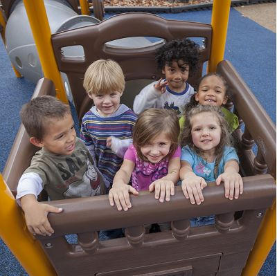 Churches offer preschool and daycare centers, so adding church playground equipment is a necessity.