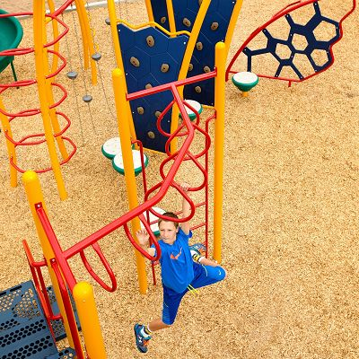 You can combine other kids playground equipment from IONiX and XScape.