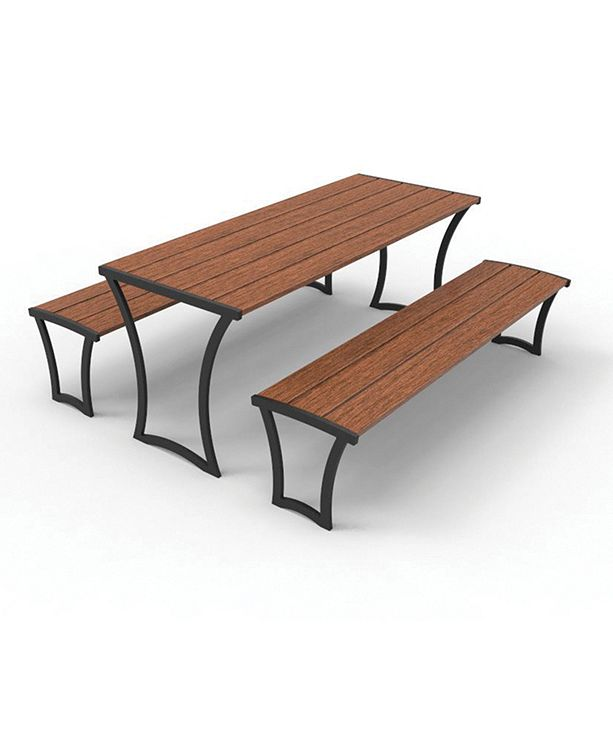 Series 1400 Table, IPE Wood