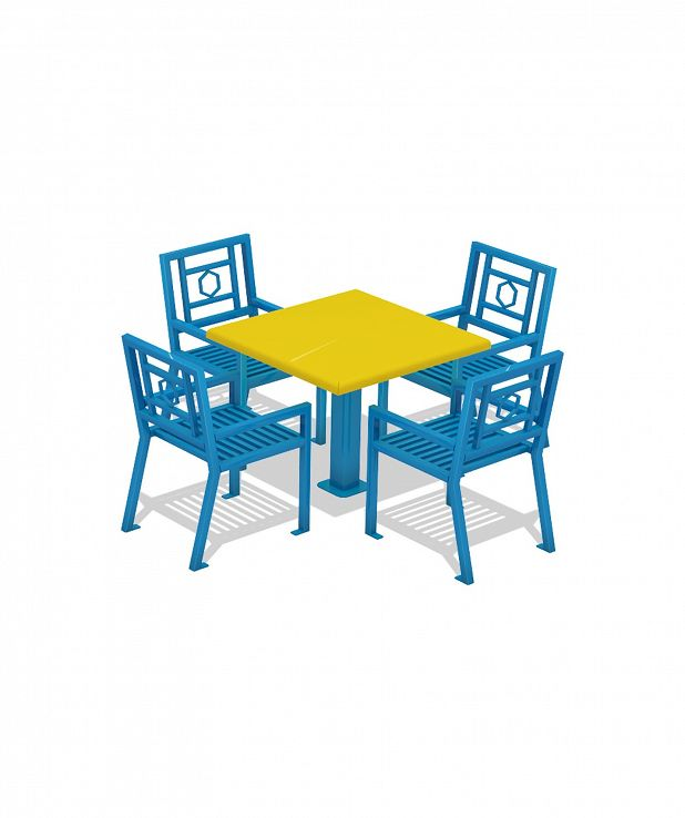 Series 600 Table with Chairs