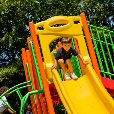 A PrimeTime play system is the perfect kids playground for customers on a budget.