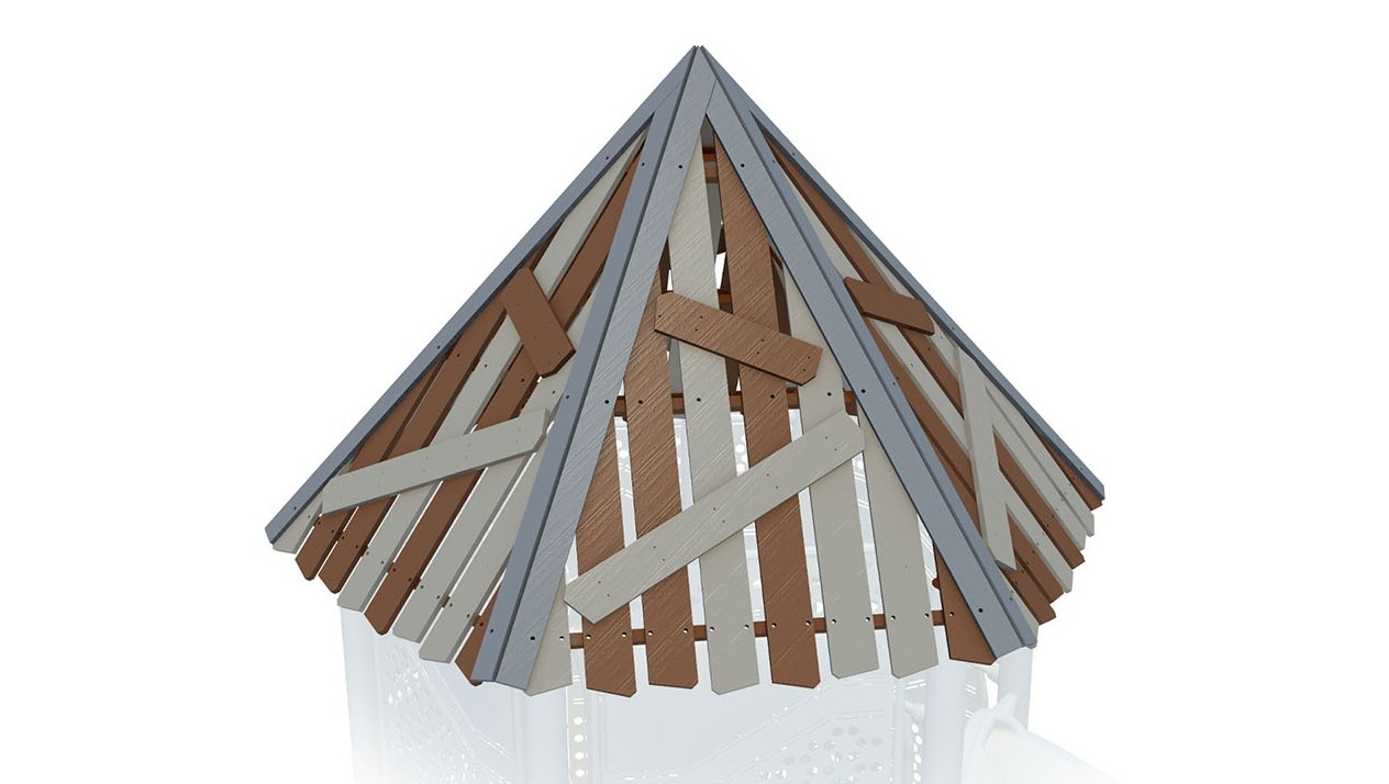 Clubhouse Hex Roof